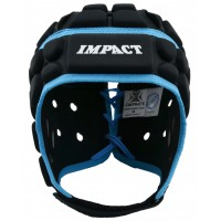 BLACK/BLUE HEADGUARD